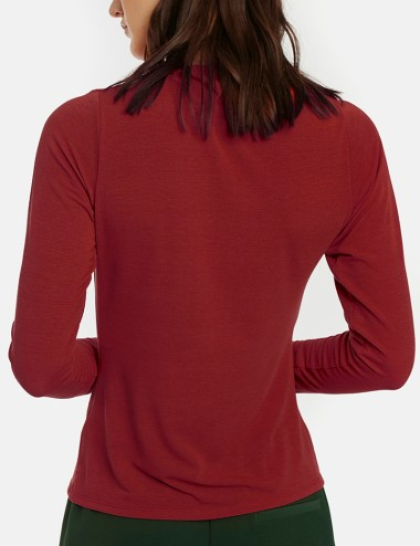 Μπλούζα μακρυμάνικη ντραπέ COMPANIA FANTASTICA