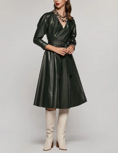 Φόρεμα κλος από δερματίνη SPELL by ACCESS FASHION